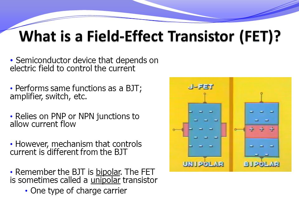 What is a Field-Effect Transistor (FET)