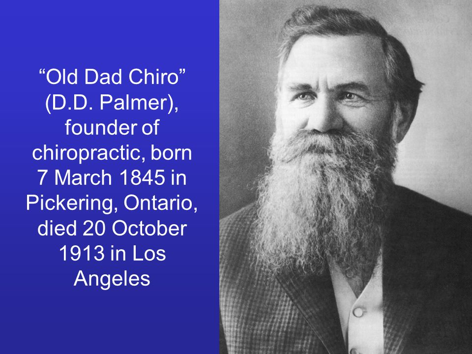 Old Dad Chiro (D.D.
