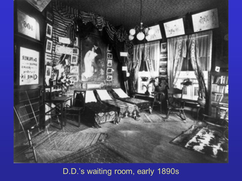 D.D.'s waiting room, early 1890s