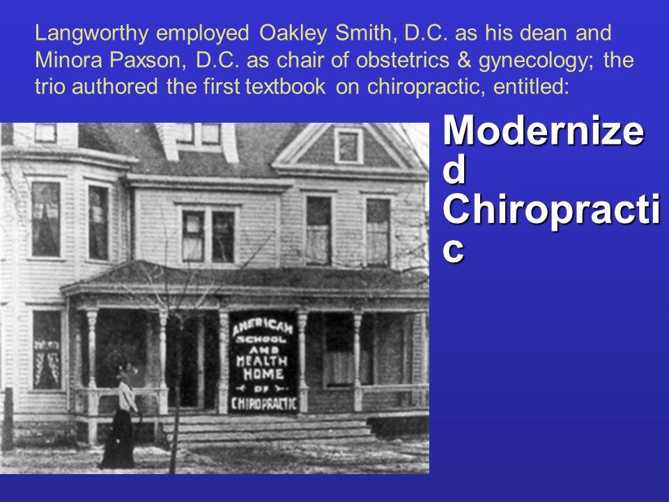 Modernized Chiropractic