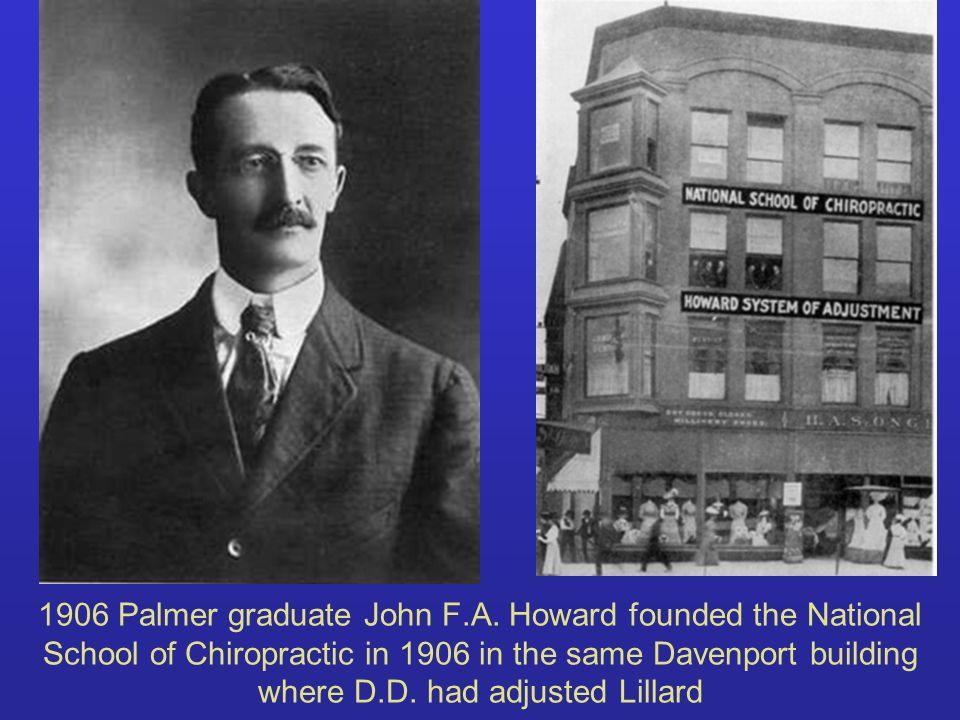 1906 Palmer graduate John F. A