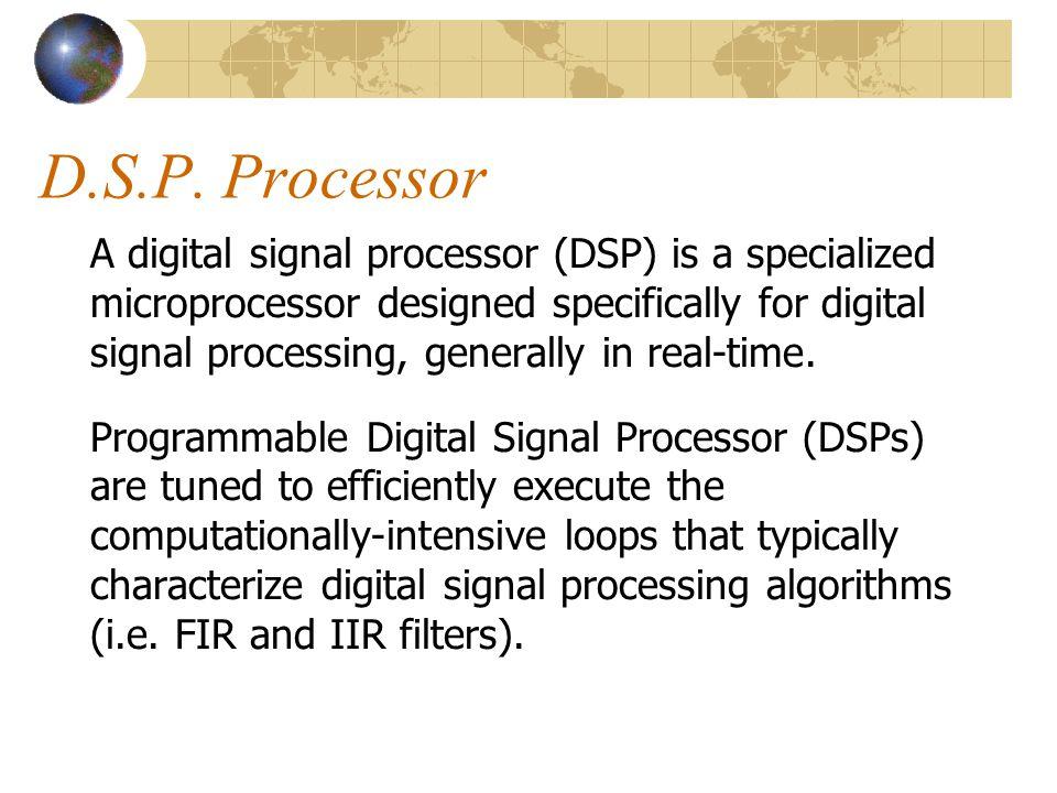 D.S.P. Processor
