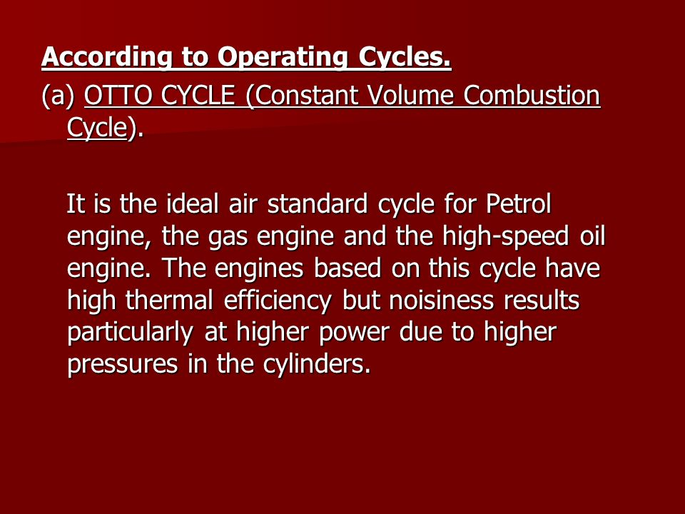 According to Operating Cycles.