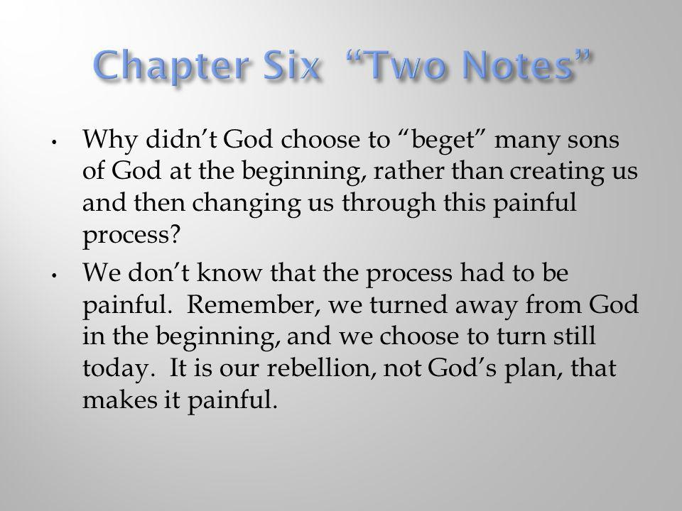 Chapter Six Two Notes