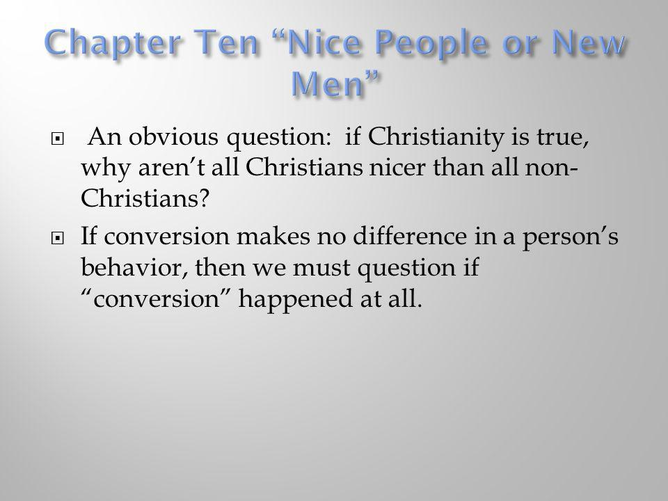 Chapter Ten Nice People or New Men