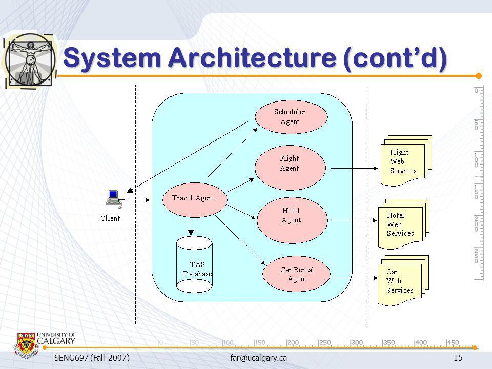 System Architecture (cont'd)