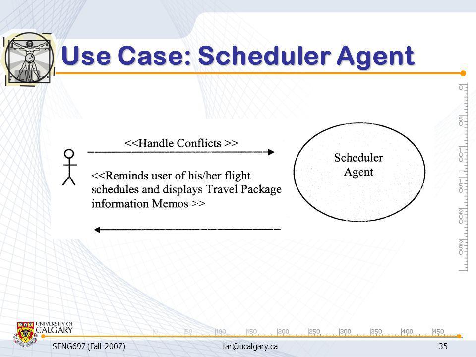 Use Case: Scheduler Agent