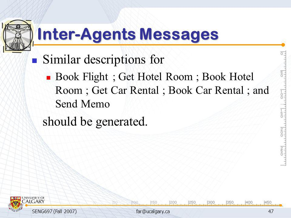 Inter-Agents Messages