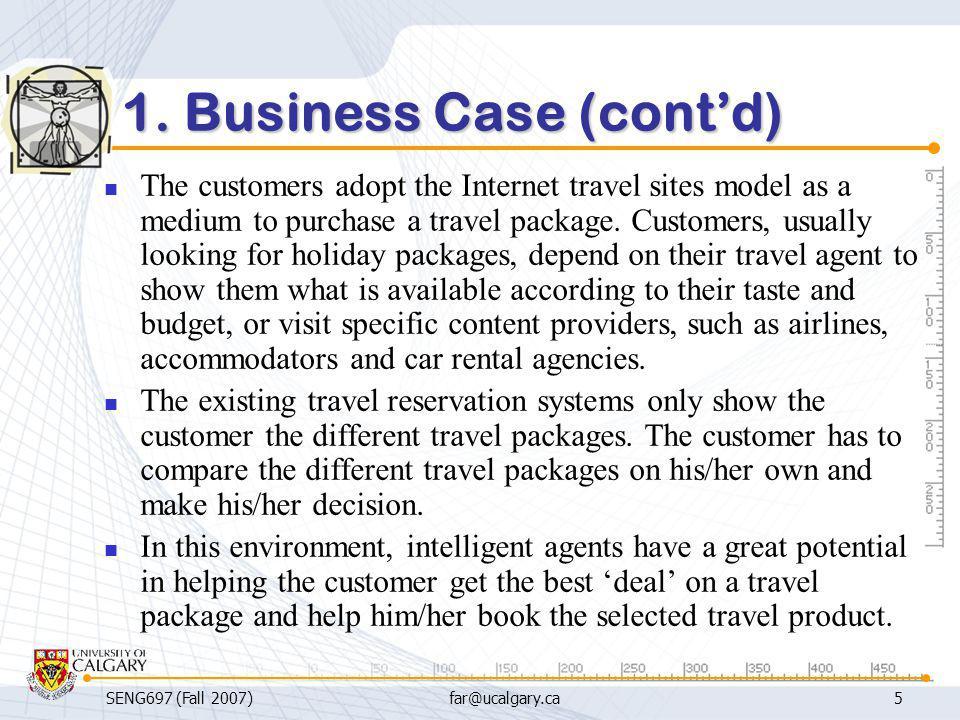 1. Business Case (cont'd)