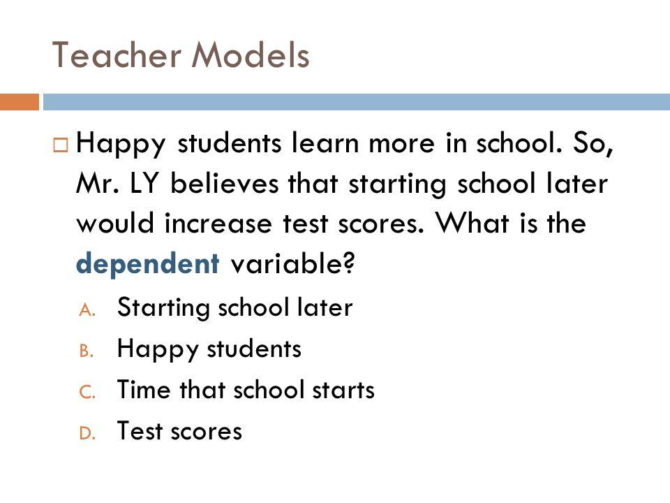 Teacher Models