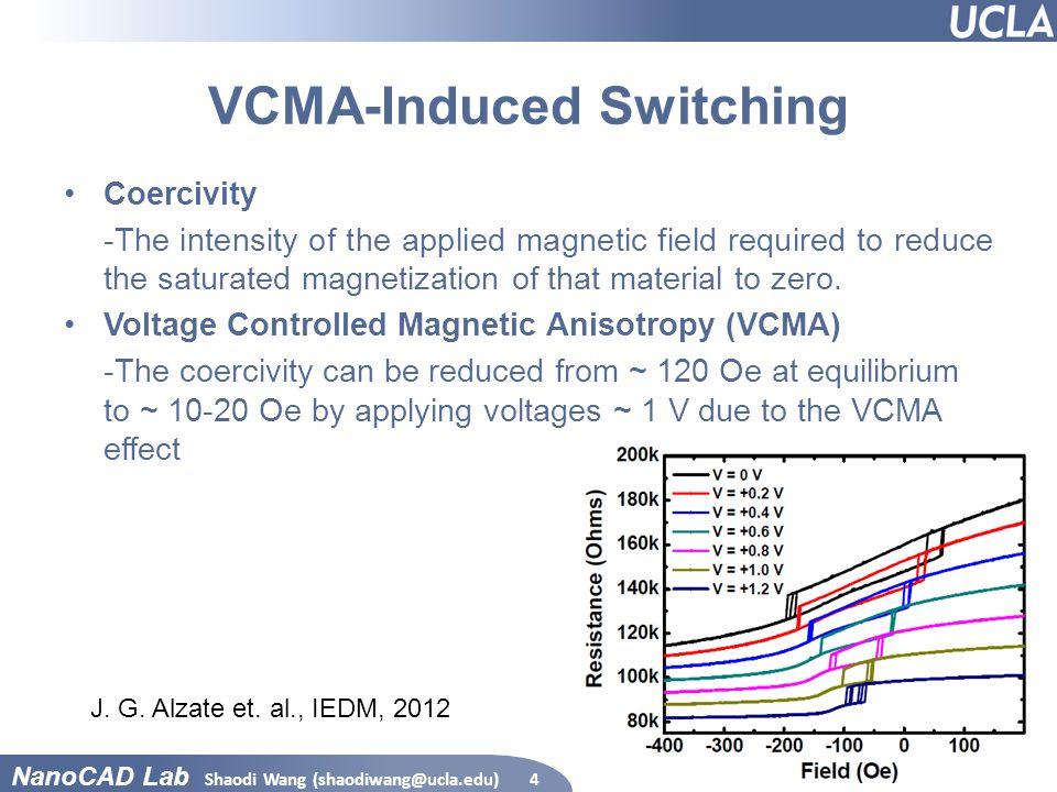 VCMA-Induced Switching