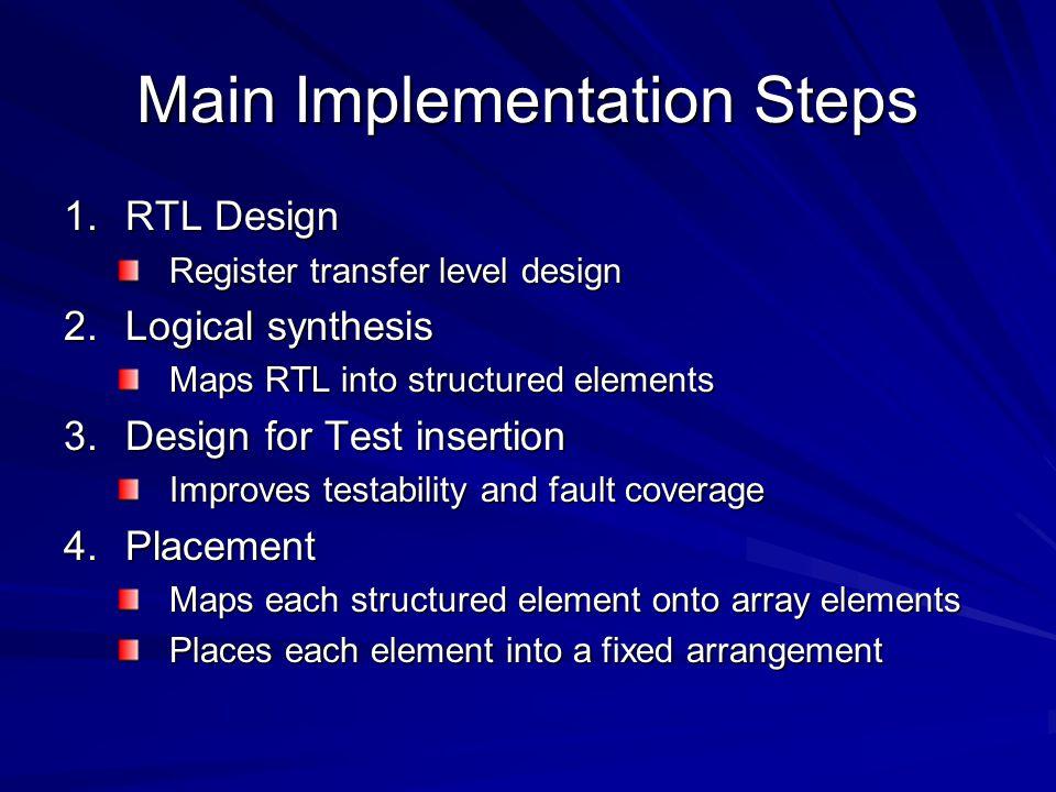 Main Implementation Steps