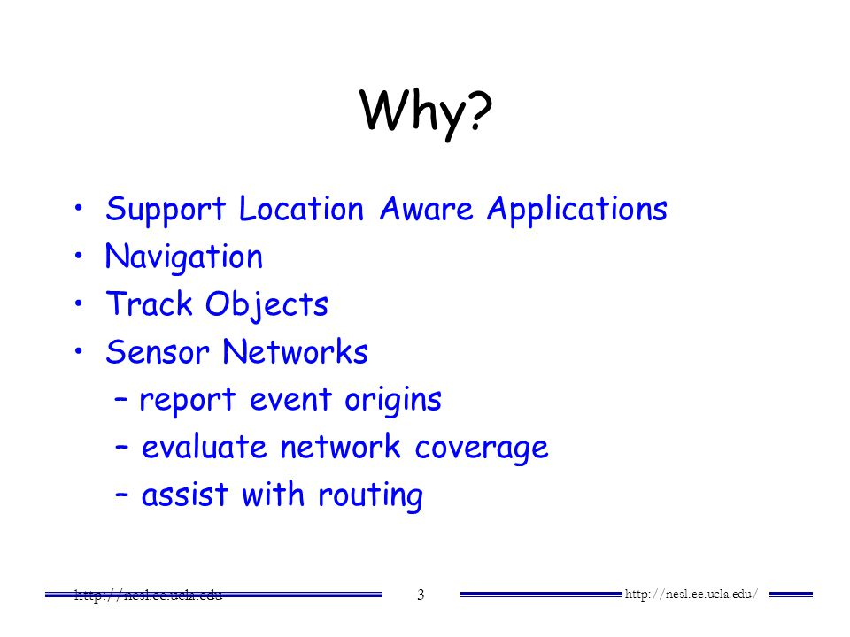Why Support Location Aware Applications Navigation Track Objects