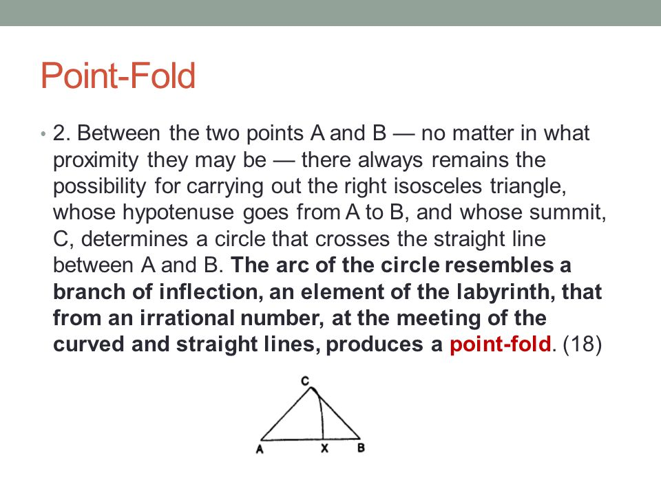 Point-Fold