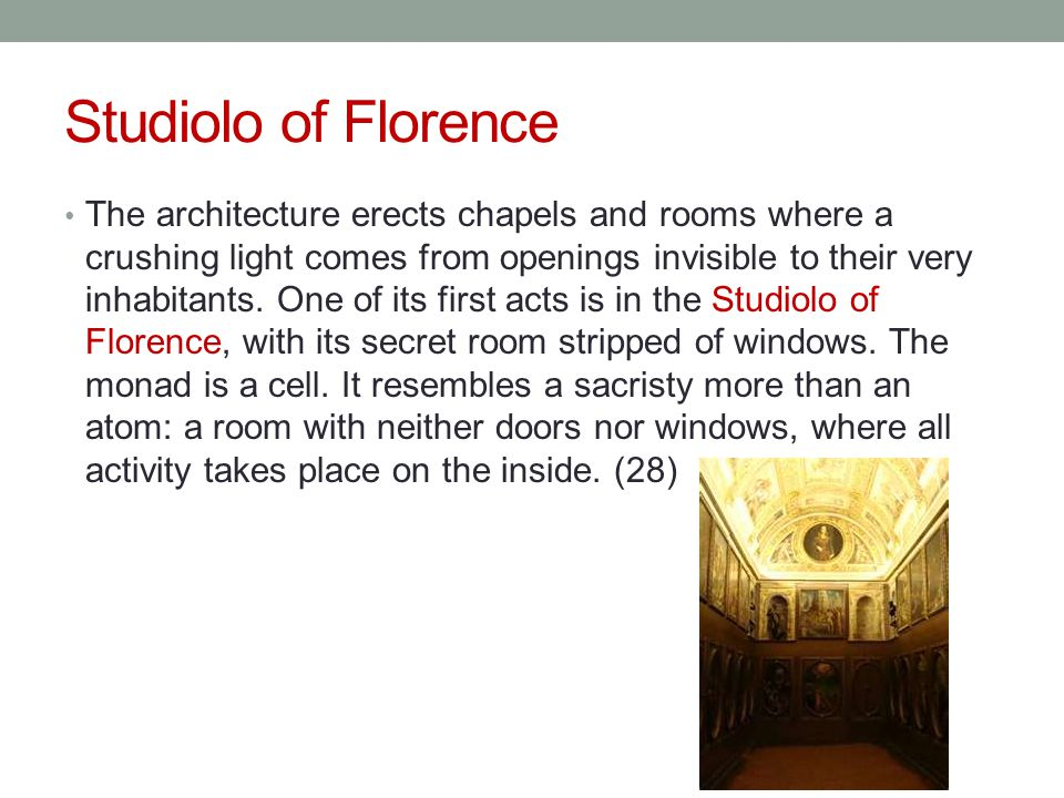 Studiolo of Florence