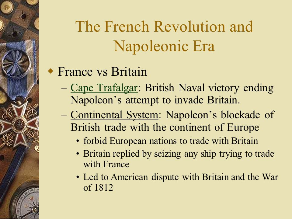 French revolution and napoleonic era worksheet