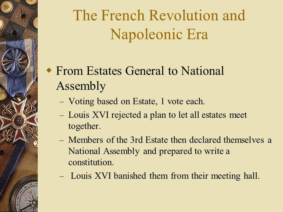 The French Revolution and Napoleonic Era