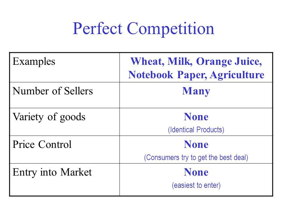 Wheat, Milk, Orange Juice, Notebook Paper, Agriculture