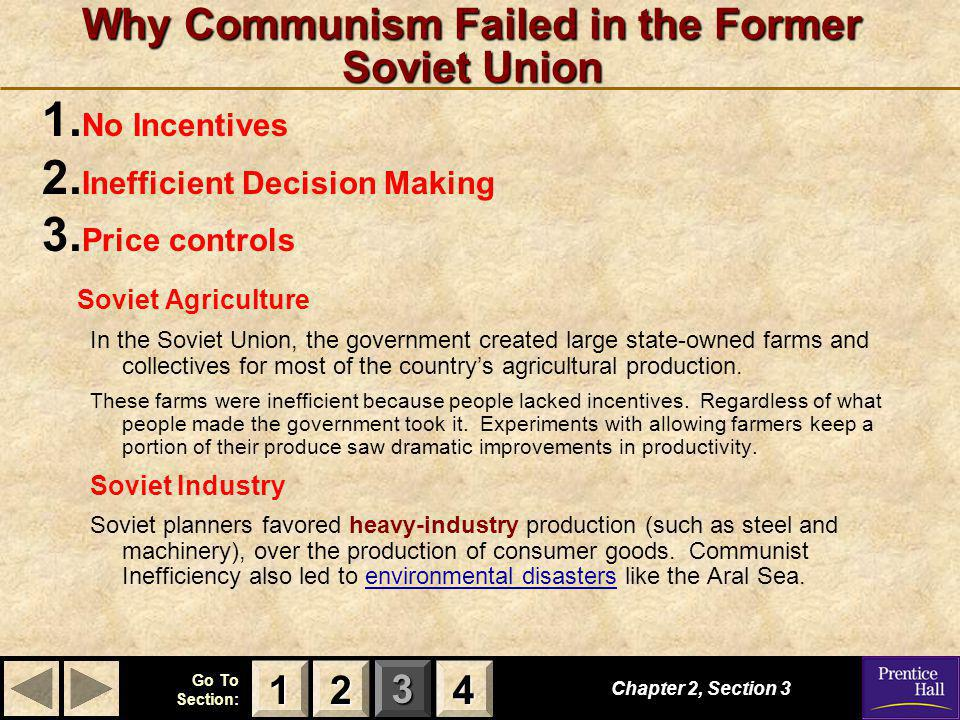 Why Communism Failed in the Former Soviet Union