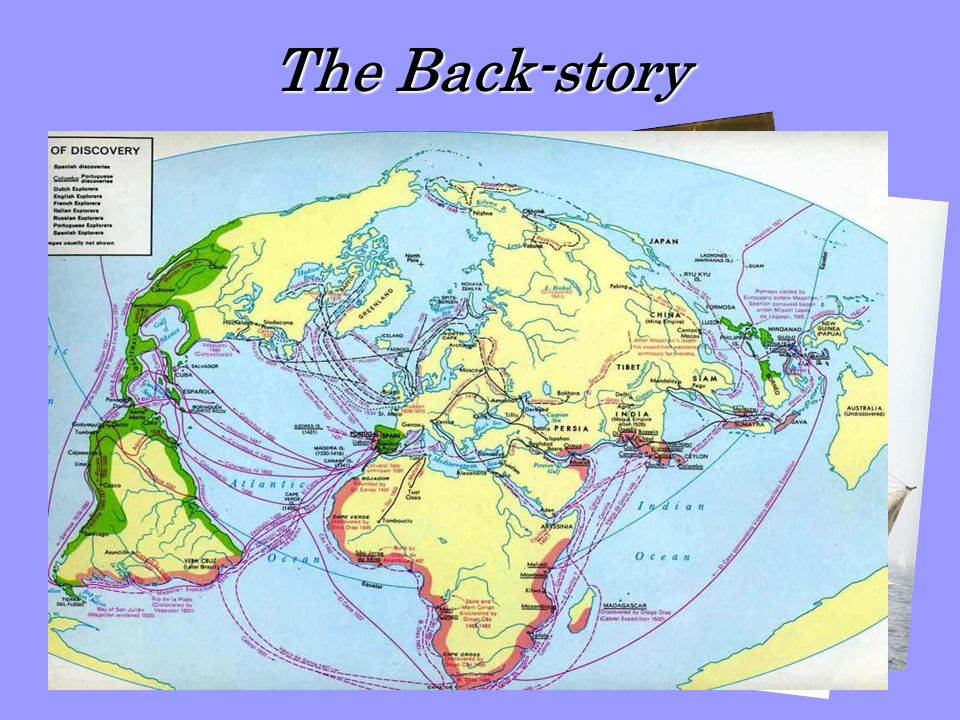 The Back-story Reasons for exploration… Conversion… Gov't interest…