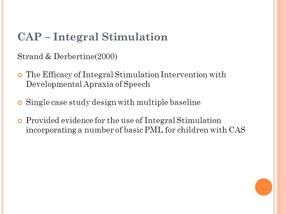 CAP – Integral Stimulation