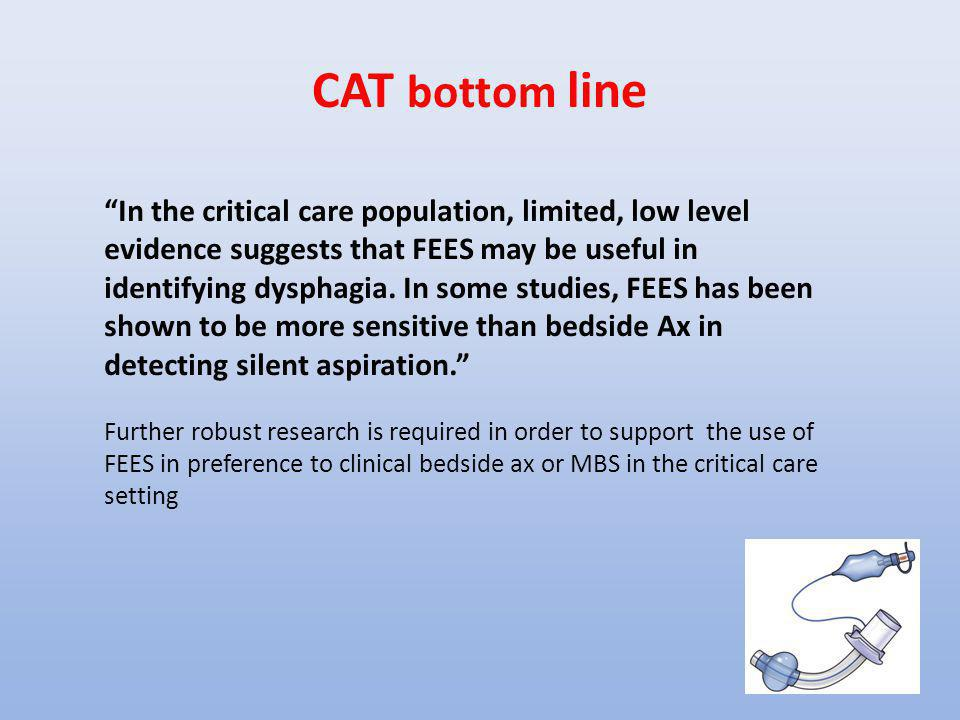 CAT bottom line