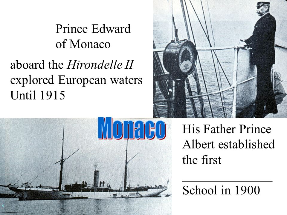 Monaco Prince Edward of Monaco