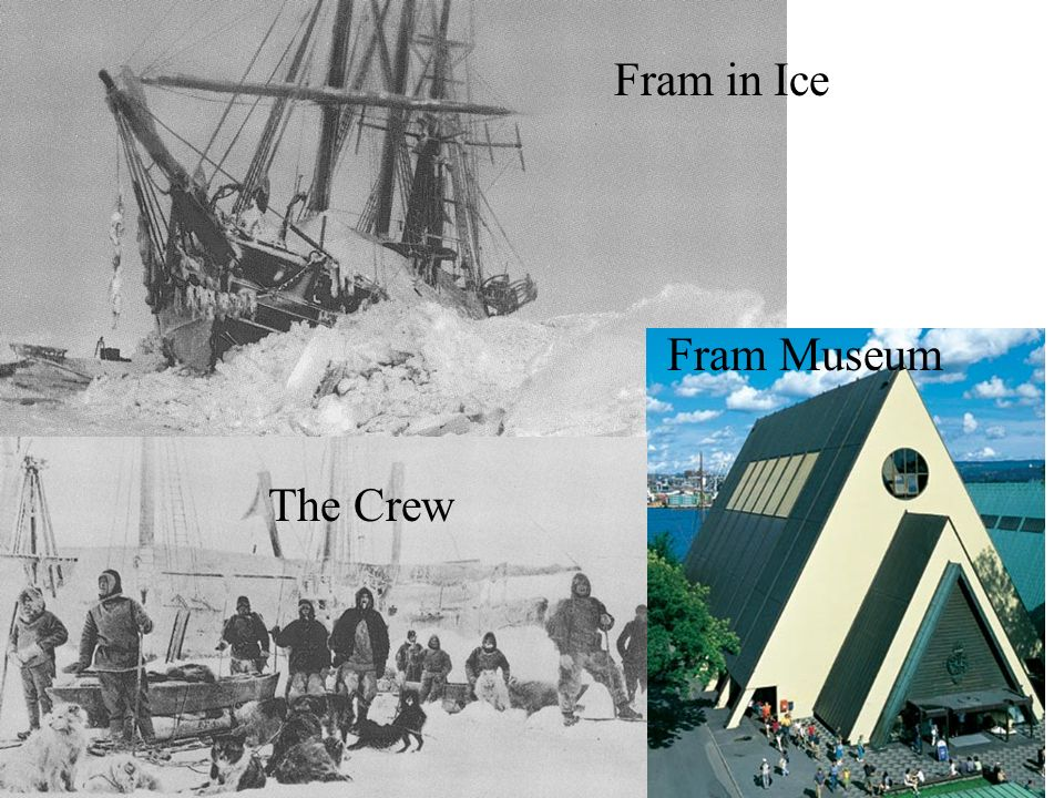 Fram in Ice Fram Museum The Crew