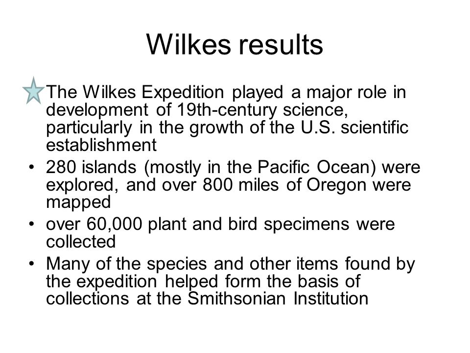 Wilkes results