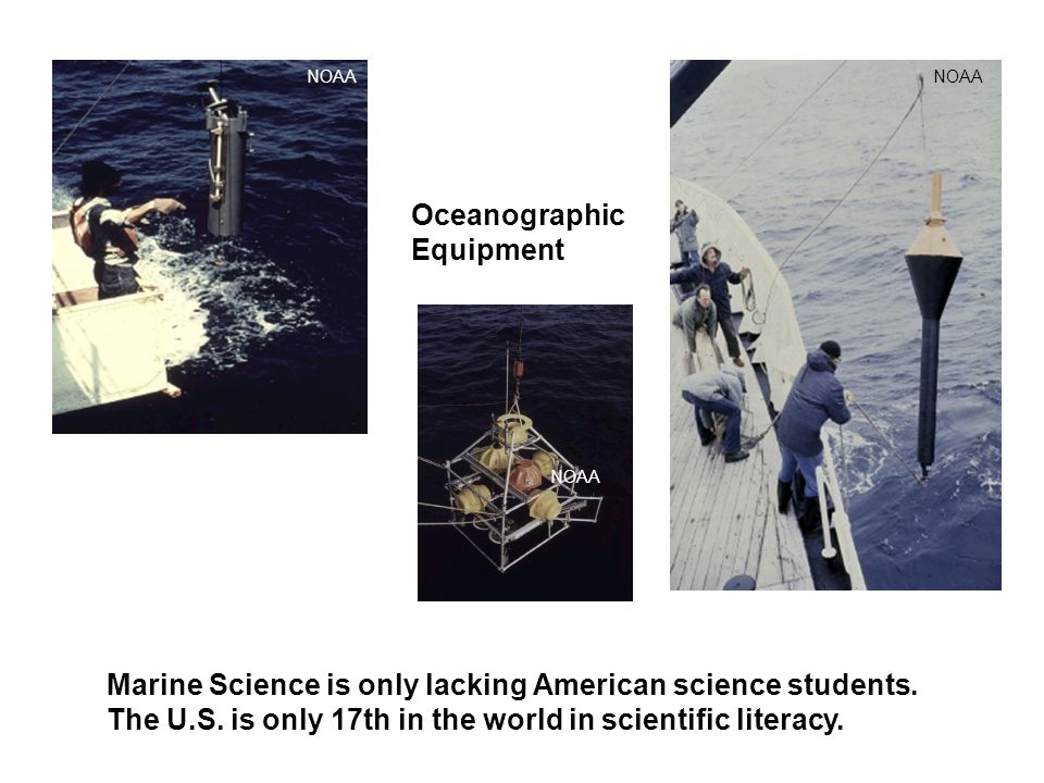Oceanographic Equipment