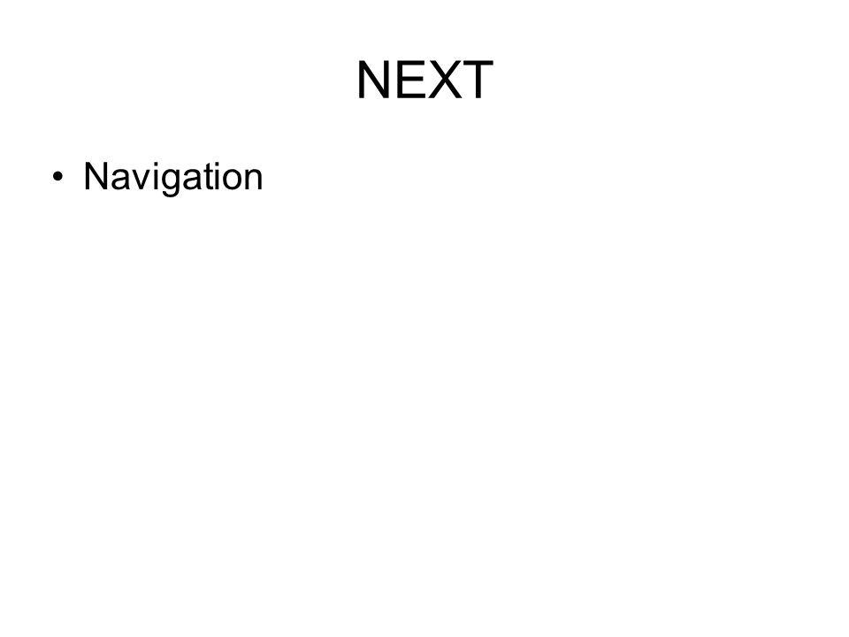 NEXT Navigation