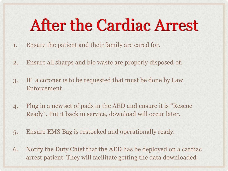 After the Cardiac Arrest