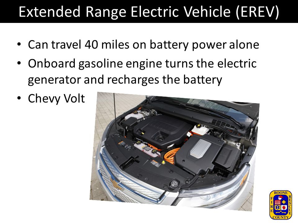 Extended Range Electric Vehicle (EREV)