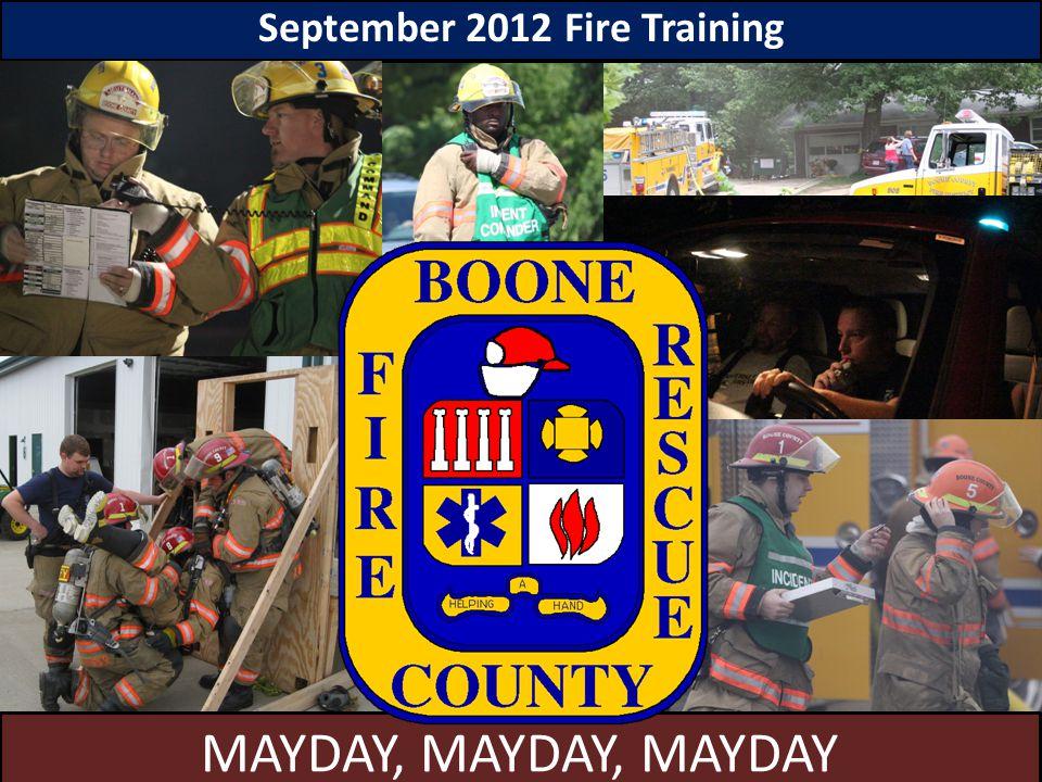 September 2012 Fire Training