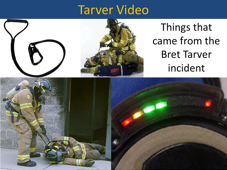Things that came from the Bret Tarver incident