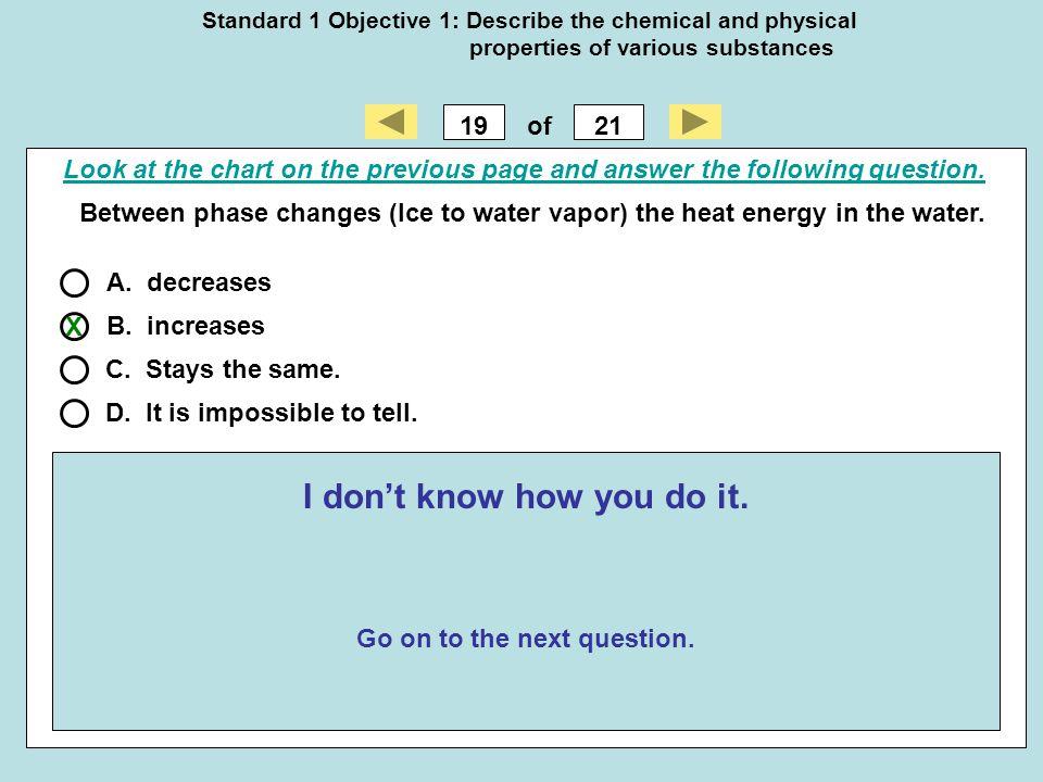 I don't know how you do it. Go on to the next question.