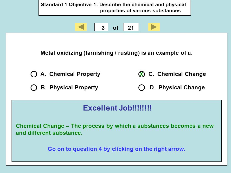Go on to question 4 by clicking on the right arrow.