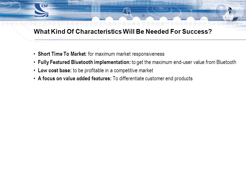 What Kind Of Characteristics Will Be Needed For Success