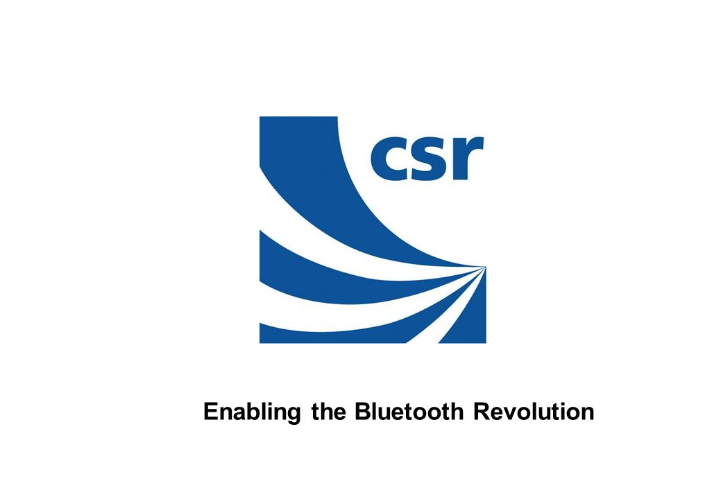 Enabling the Bluetooth Revolution
