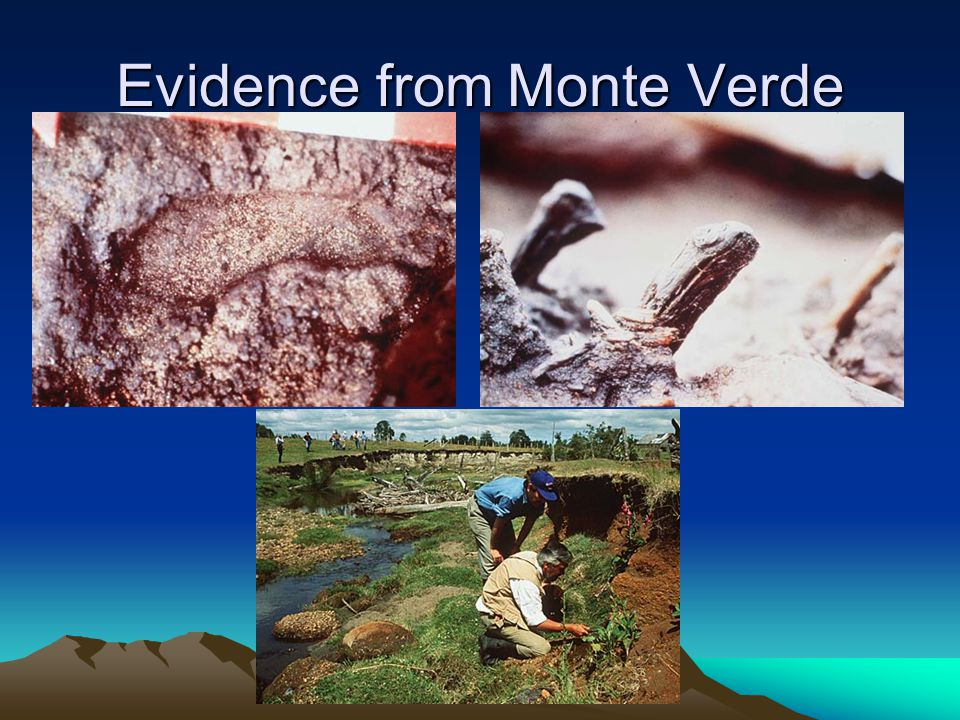 Evidence from Monte Verde