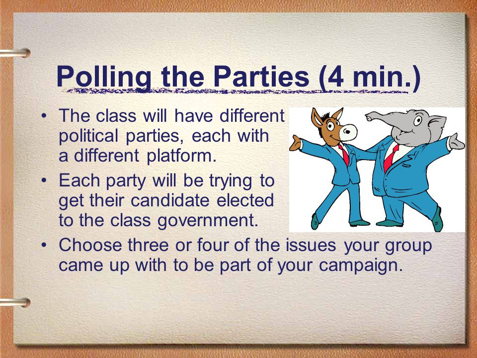 Polling the Parties (4 min.)