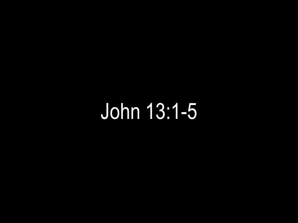 John 13:1-5