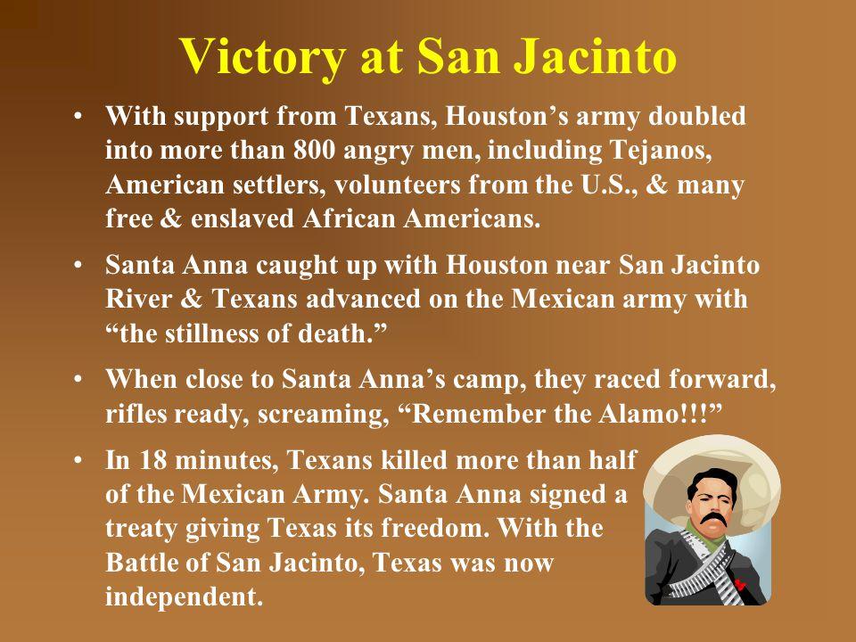 Victory at San Jacinto