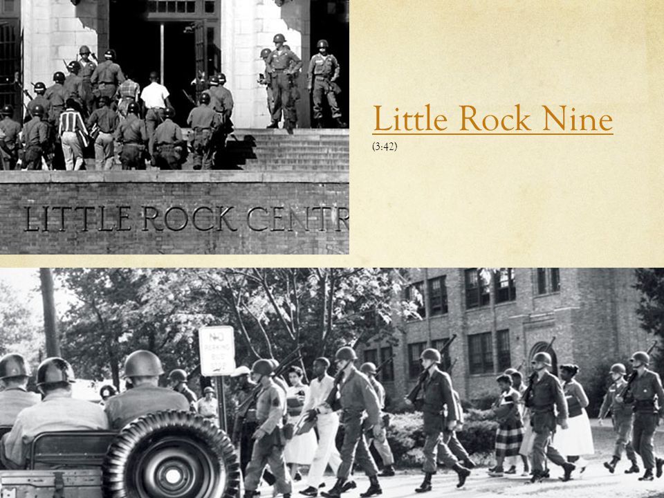 Little Rock Nine (3:42) Marquette University Little Rock Nine clip