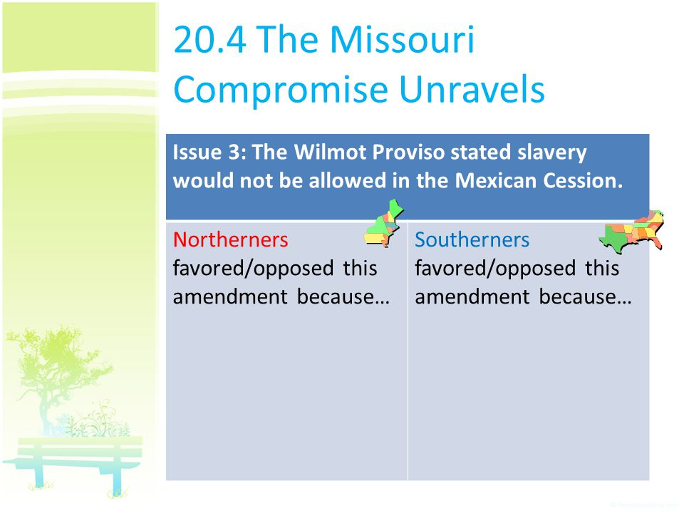 20.4 The Missouri Compromise Unravels