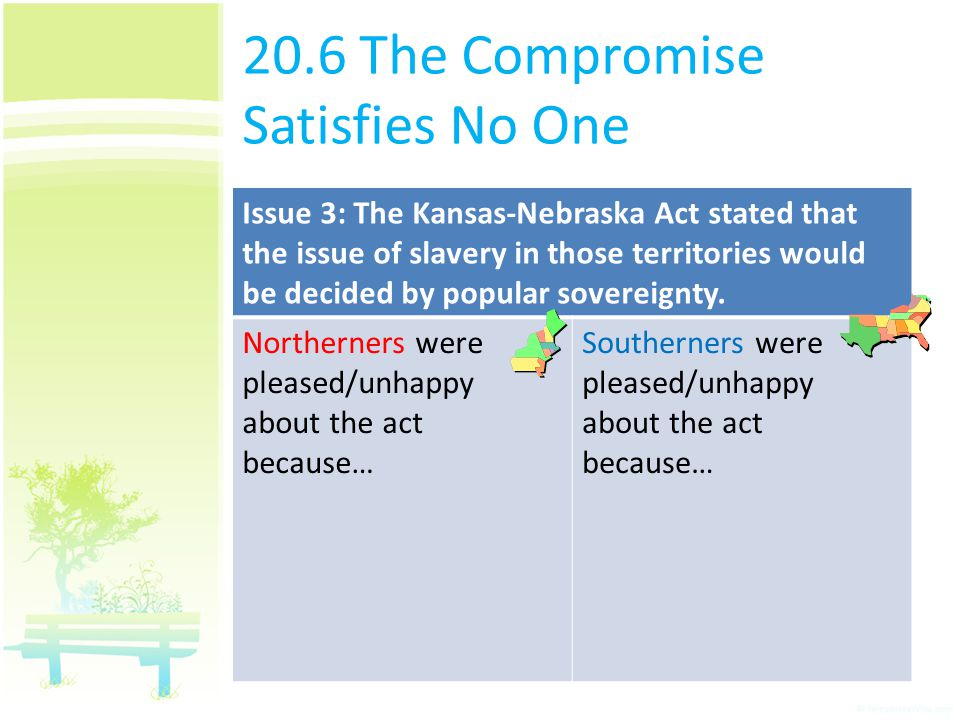 20.6 The Compromise Satisfies No One