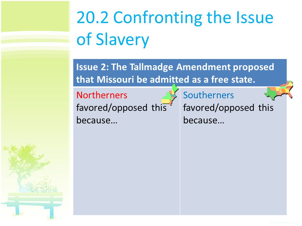 20.2 Confronting the Issue of Slavery