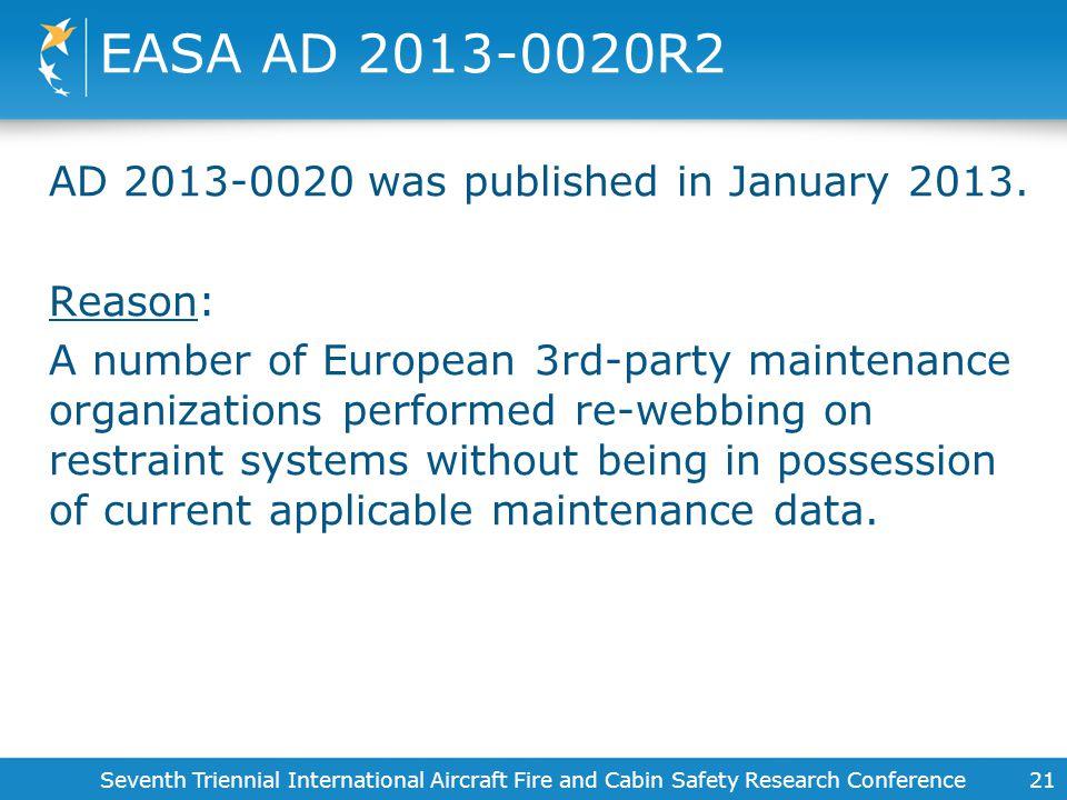 EASA AD 2013-0020R2