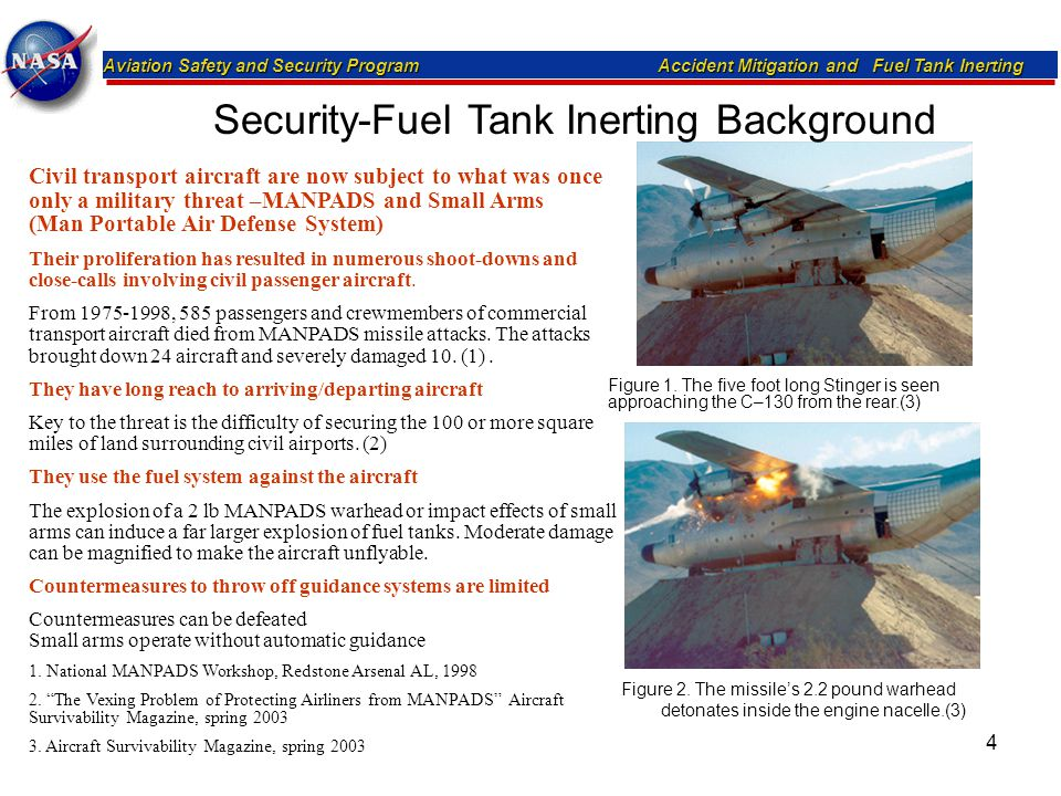 Security-Fuel Tank Inerting Background