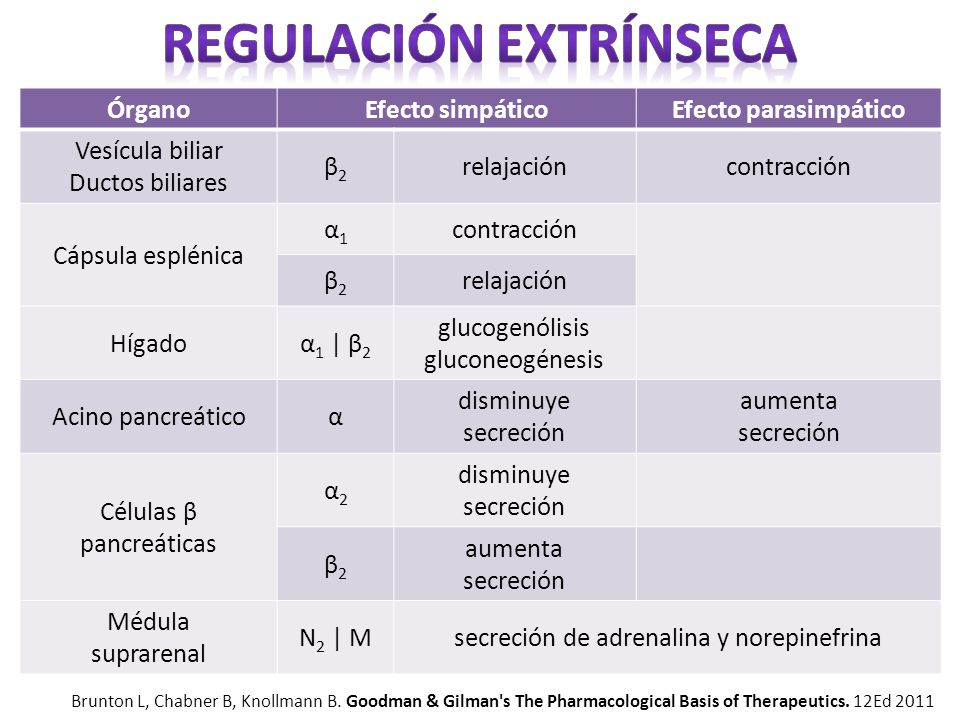 Regulación extrínseca